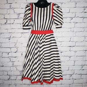 Vintage Choon of California Striped Dress